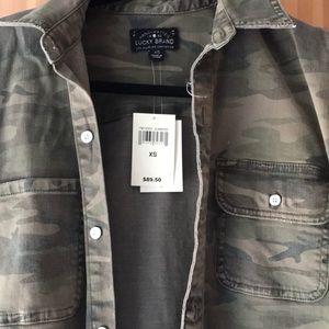 b2a7561406cc6 Lucky Brand Jackets & Coats - Lucky Brand Camo Cargo Jacket